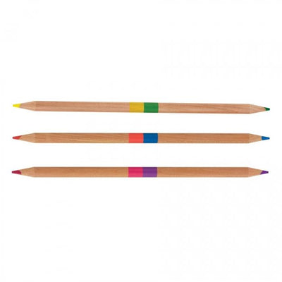Double Sided Colored Pencils International Arrivals (Smencils