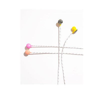 Sweet Tunes Ear Buds - Yellow ban.do