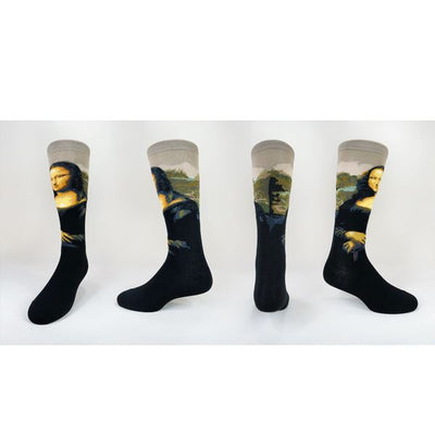 Mona Lisa Socks jhj design