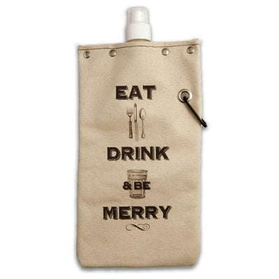 Eat Drink Be Merry Wine Tote Give Simple