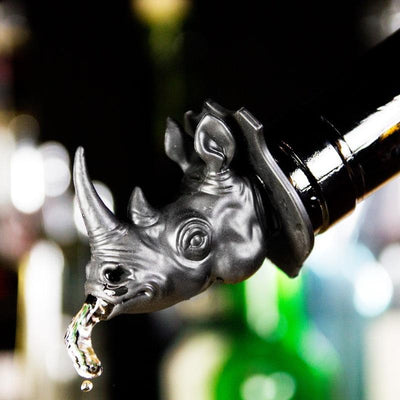 Party Animals Bottle Pourers - Rhino