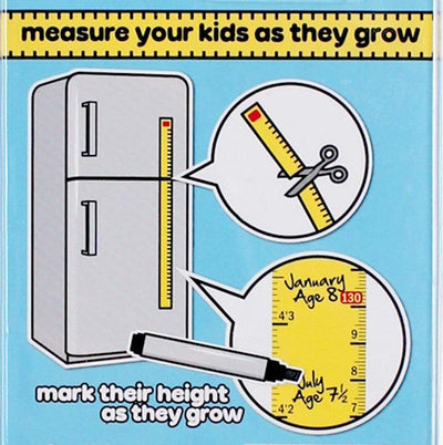Magnetic Growth Chart Suck UK