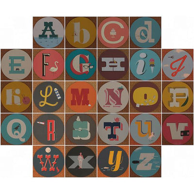 Alphabet Coasters (Set of 26)