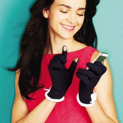 Elegant Touchscreen Gloves Two's Company