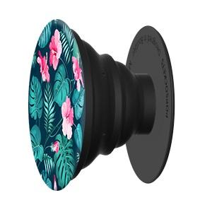 Hibiscus Popsocket Phone Grip and Stand