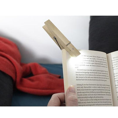 Wood Clothespin Light