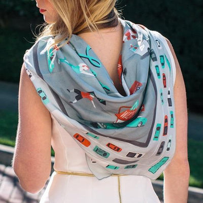 The UnTourist Scarf by Emily McDowell Give Simple