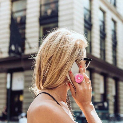 Sprinkles Donut PopSocket Phone Grip and Stand Give Simple