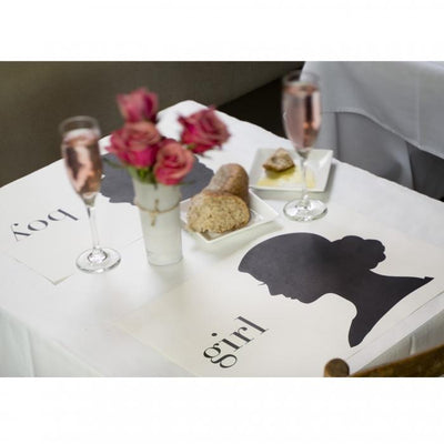 Boy/Girl Party Sitting Placemats