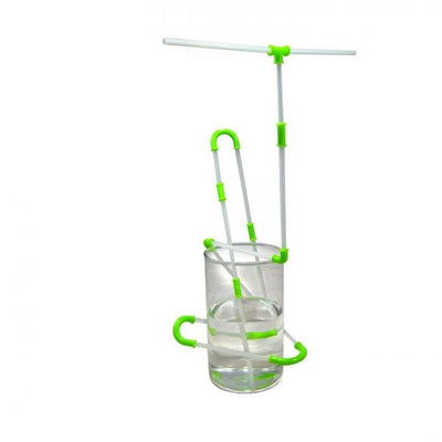 Build and Drink Straw Set nuop Green