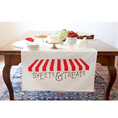Sweets and Treats Table Banner Tin Parade