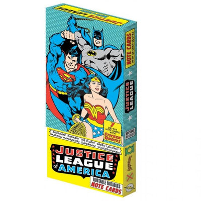 Justice League of Ameria Note and Sticker Set Gent Supply Co.