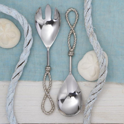 Know Your Ropes Serving Utensil Set (Set of 2) Two's Company