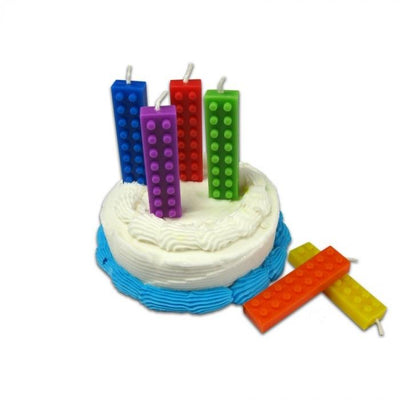 Color Blocks Party Candles nuop