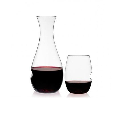 Govino Wine Glass and Decanter GiftSet (Set of 2) Gent Supply Co.