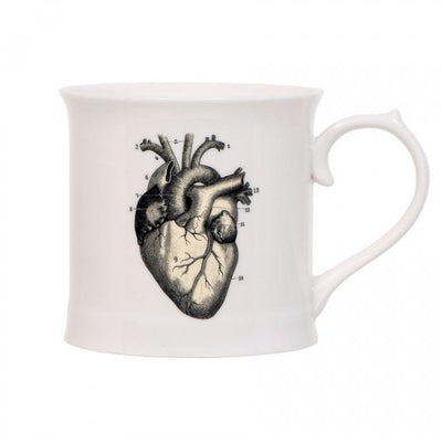 Be Still My Heart Vintage Mug