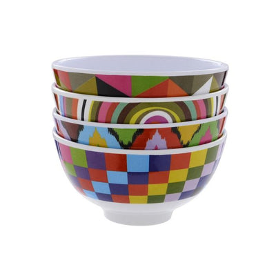 Mod Bowl Set (Set of 4) French Bull