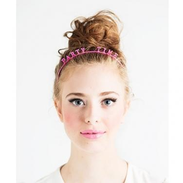Kiss Me Party Headband