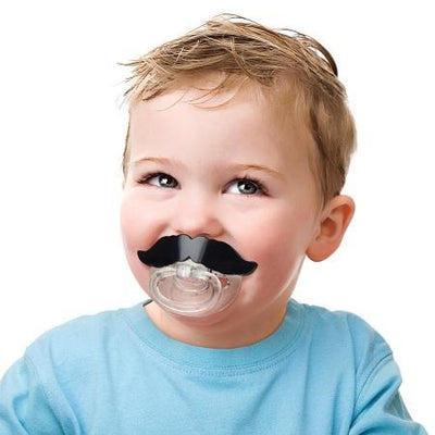 Mustache Pacifier Fred & Friend