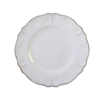 "Antique White Rustica 9"" Salad Plates"