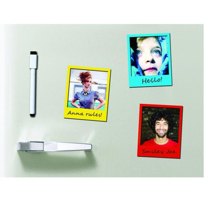 Magnetic Photo Frames with Pen Set (Set of 7)