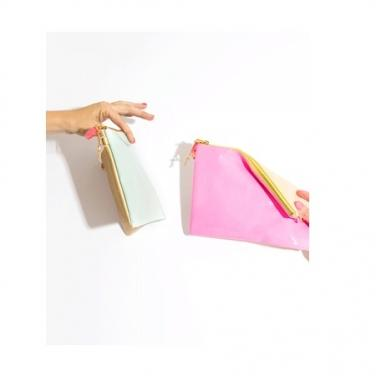 Flipside Clutch - Pink and Blush