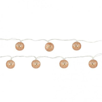 Moroccan Lantern String Lights Give Simple