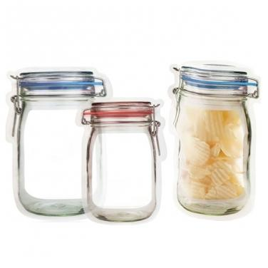 Reusable Mason Jar Storage Bag Set Give Simple