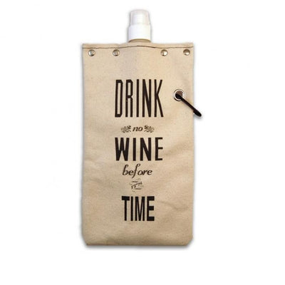 Drink Wine Time Tote