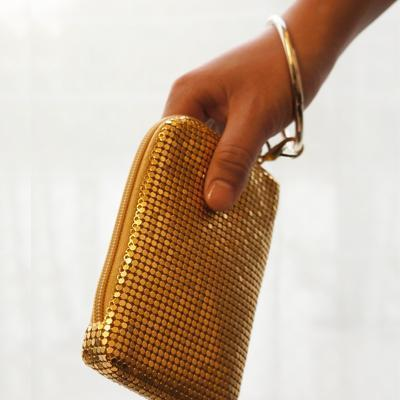 Bling Bangle Pouch - Gold