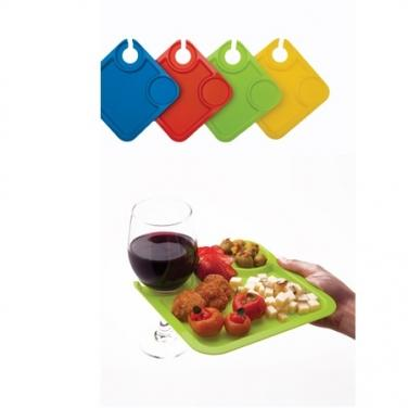 Cocktail Party Plates (Set of 4)
