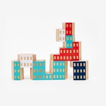 Architectural Wooden Blocks areaware