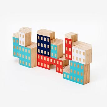 Architectural Wooden Blocks