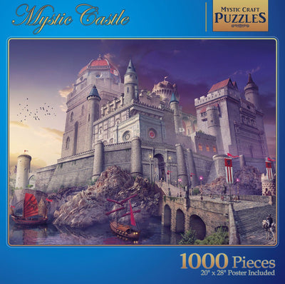 Mystic Castle Jigsaw Puzzle -1000 pieces Give Simple