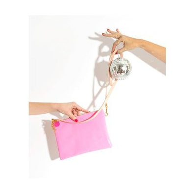 Flipside Clutch - Pink and Blush ban.do
