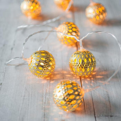 Moroccan Lantern String Lights