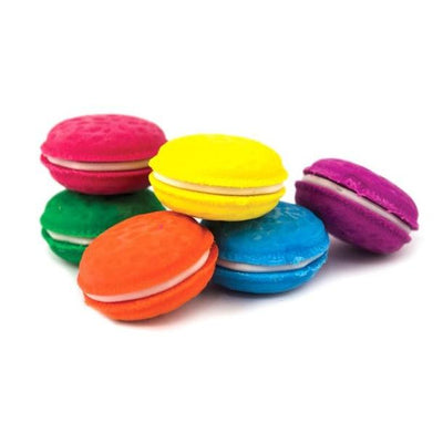 Macaron Scented Erasers - Set of 6 Give Simple
