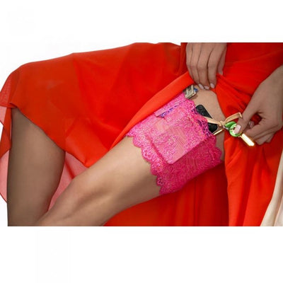 Girly Go Garter - Pink
