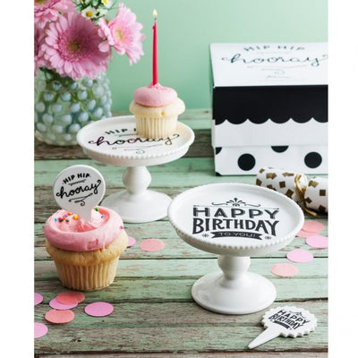 Happy Birthday Mini Pedestal Set Rosanna
