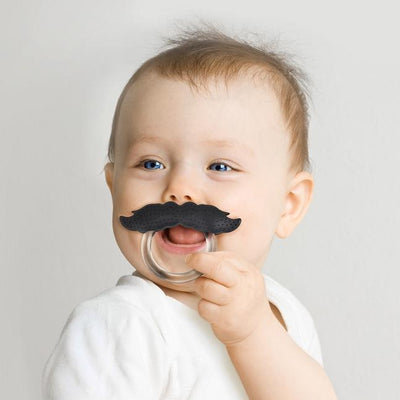 Mustache Baby Teether Fred & Friend