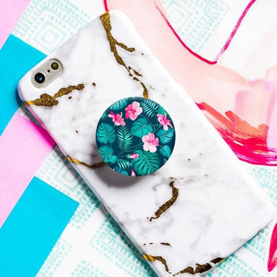 Hibiscus Popsocket Phone Grip and Stand Give Simple