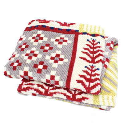 Nordic Blanket - Red