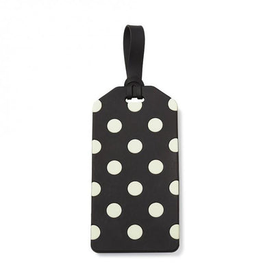Kate Spade Black Dot Luggage Tag