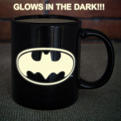 Batman Glow in the Dark Mug Give Simple