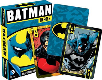 Batman Heroes Playing Cards