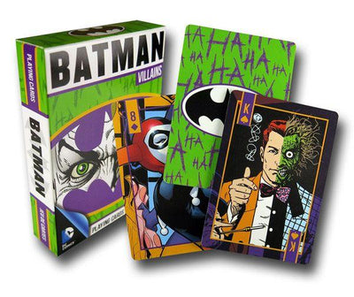 Batman Villains Playing Cards