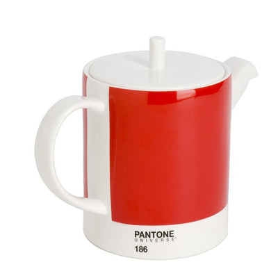 Pantone Teapot - Ketchup Red 186 Whitbread Wilkinson