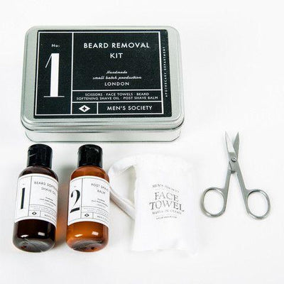 Beard Removal Kit Give Simple