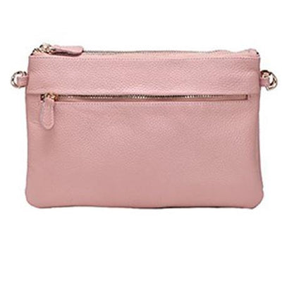 Double Crossbody Mighty Purse - Blush