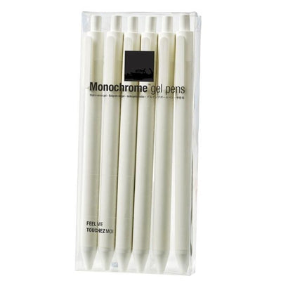 Monochromatic White Pen Set Gent Supply Co.